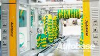 中国 洗車 3 乾燥送風機のファンを装備、ロール オーバー洗浄システム 工場
